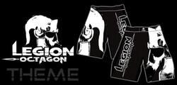 "LEGION OCTAGON ""THEME"" MMA shorts"