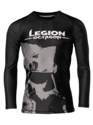 LEGION OCTAGON Rash Guard Long sleeve