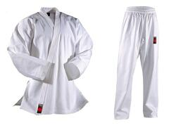 DANRHO SHIRO-PLUS Karate gi (logofri) - 9 oz.