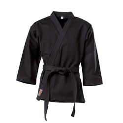 KWON TRADITIONEL Karate gi overdel - Sort - 12 oz.