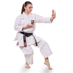 KAZE THUNDER ONE Slim-fit Kata Karate gi - 13 oz. - WKF