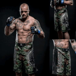"LEGION OCTAGON ""PAIN"" MMA Shorts"