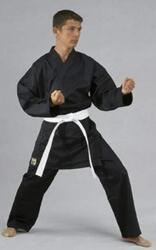 KWON SHADOW Karate Gi - Sort - 6.5 oz.