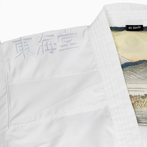 TOKAIDO KUMITE MASTER ATHLETIC (Slim Fit) karate gi - 3.5 oz. - WKF