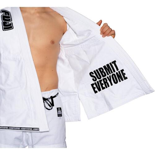 Fuji Submit Everyone BJJ Gi - 350g - Hvid