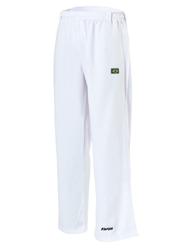 Capoeira bukser Hvide