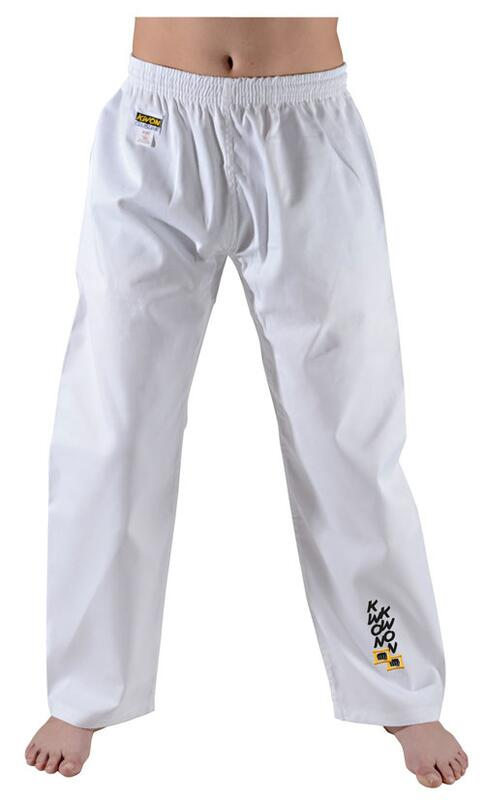 KWON Kampsportsbukser Hvid 6.5 oz
