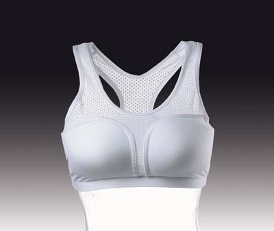 Brystbeskytter - Cool Guard sports BH uden skåle - Kan bruges sammen med Standardskåle eller SUPER skåle Leveres med enten DAX eller KWON logo