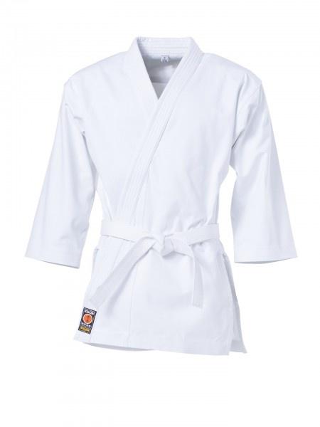 KWON gi overdel (logofri) - 12 oz. - KWON KUMITE løs overdel (logofri) - 12 oz. Løs gi overdelVævet til at være yderst blød og smidig. Kun tilgængelig i 12 oz. kvalitet.Moderne kumite snit med lang jakke samt ekstra lange ærmer Materiale: 100% bomuld Farve: hvid Størrelse: 160 - 190 cm Fås