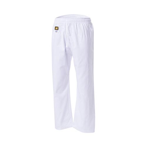 KWON TRADITIONEL gi bukser - 8 oz. - KWON TRADITIONEL Karate gi-bukser - hvid - 8 oz. Kvalitets bukser til feks. Wing tsun, Kung fu og Karate. Kan fås i størrelse 110-200cm Kvalitet 8 oz i 100% bomuld Elastik samt snørrelukning.