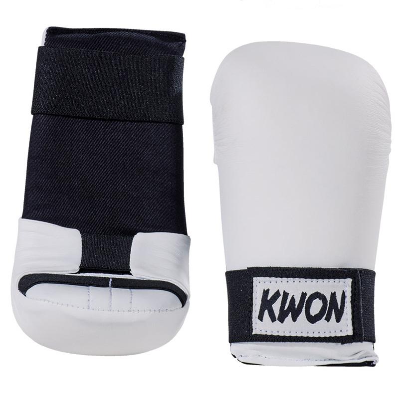 KWON Shobu ippon kamphandske - hvid - KWON Shobu ippon kamphandske - hvid Hvid forstøbt handske i kunstlæder med god beskyttelse. Medium hård