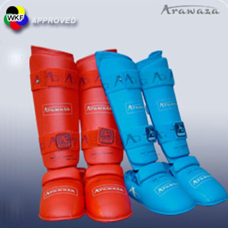 ARAWAZA fod og benbeskytter - WKF-godkendt - WKF godkendt fod og benbeskytter fra Arawaza