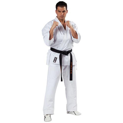 KWON SPECIALIST Ju-Jitsu gi - Hvid -12 oz. - KWON SPECIALIST Ju-Jutsu gi - Hvid -12 oz. Meget holdbar og omfattende selvforsvar gi i det tidløse KWON snit.Til selvforsvars eksperter.Traditionelt snit, med forstærkede skuldre, underarme og revers. Ekstra syninger på knæene og på tværs af brystet og s