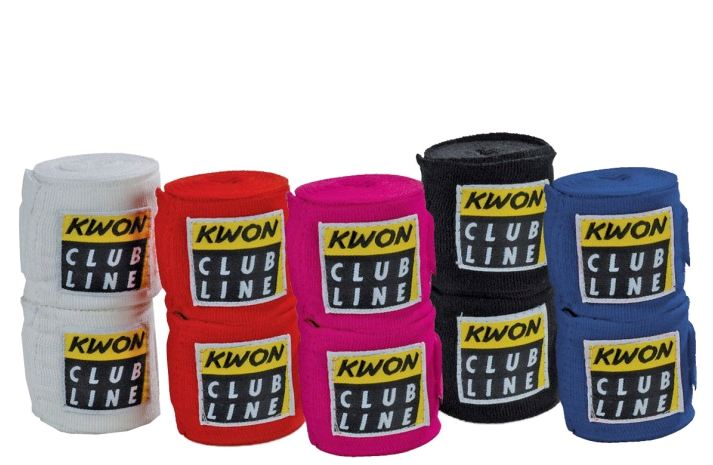 Boksebandage - elastisk - boksebandage - elastisk. Fåes i 5 farver.