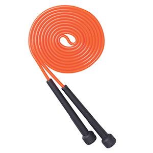 Sjippetov i PVC - Sjippetov kan bruges både ude og inde, er nemt at tage med. Bruges til konditionstræning/opvarmning og leg både til børn og voksne. Sjipning gør kalorieforbrænding både sjovt og effektivt. Lilla med sort håndtag ( billed er vist orange, som kan skaffes)
